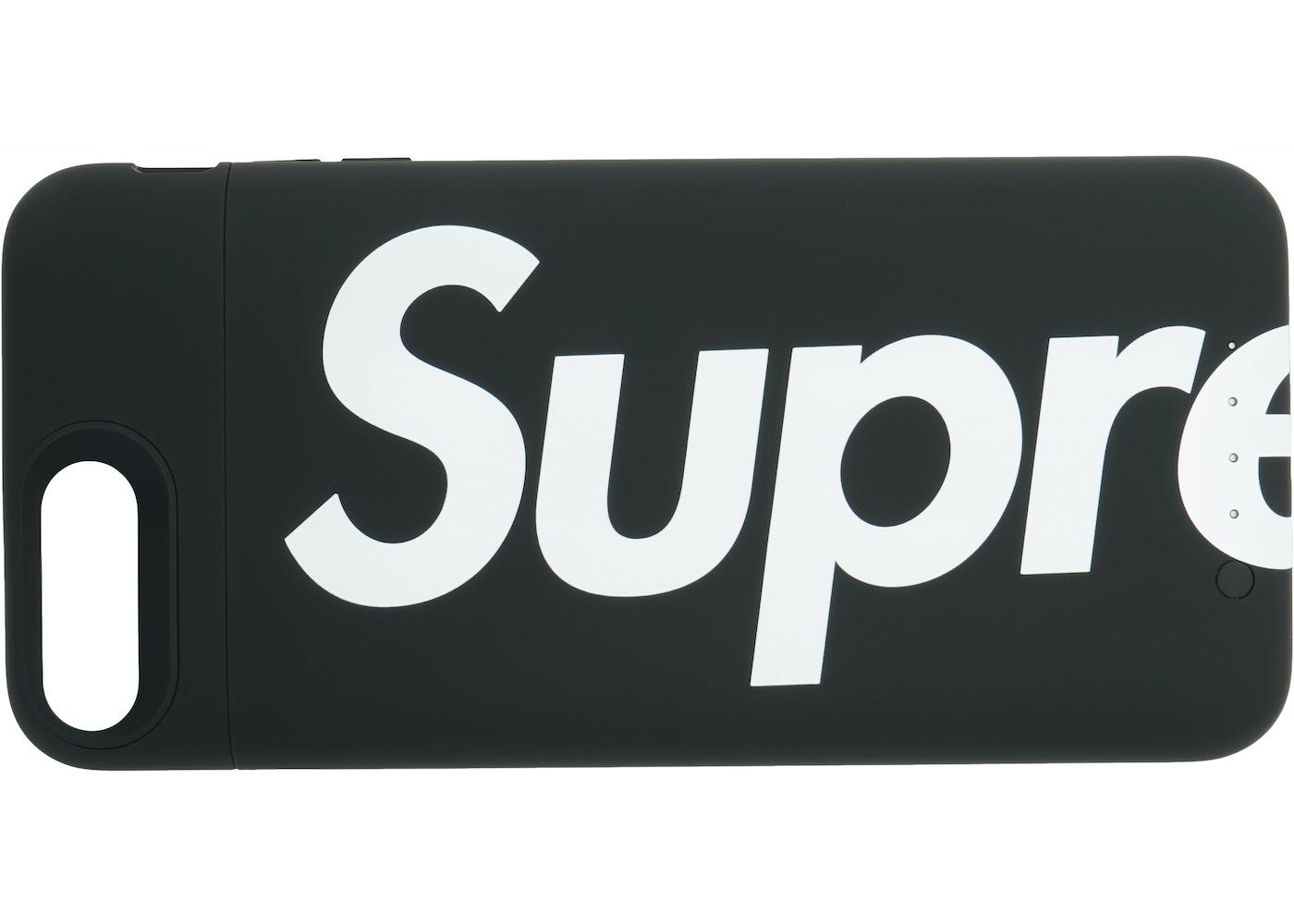 timeless design d161d bbc97 Supreme Mophie Juice Pack iPhone 8 Plus Black