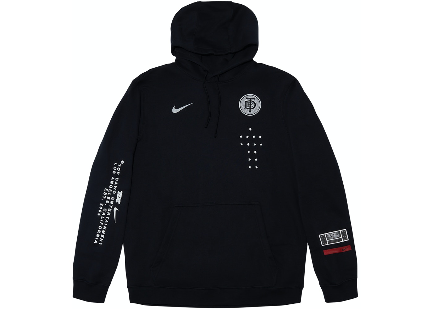 TDE x Nike Crest Logo TDE Black - SS18 251cc86f5a35