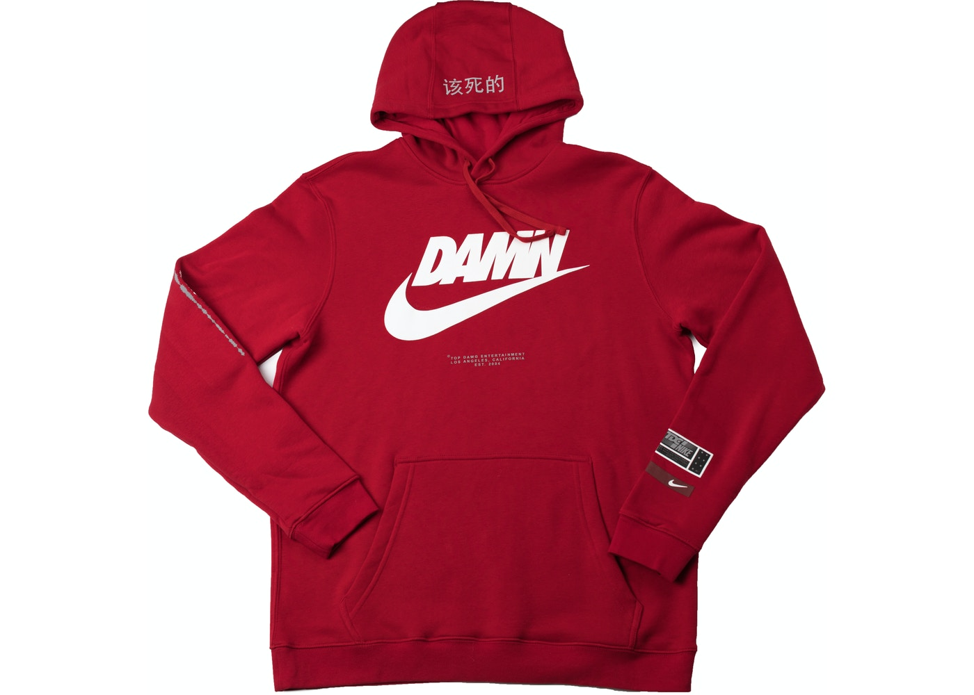 super specials new lower prices top quality TDE x Nike Swoosh Logo TDE Red - SS18