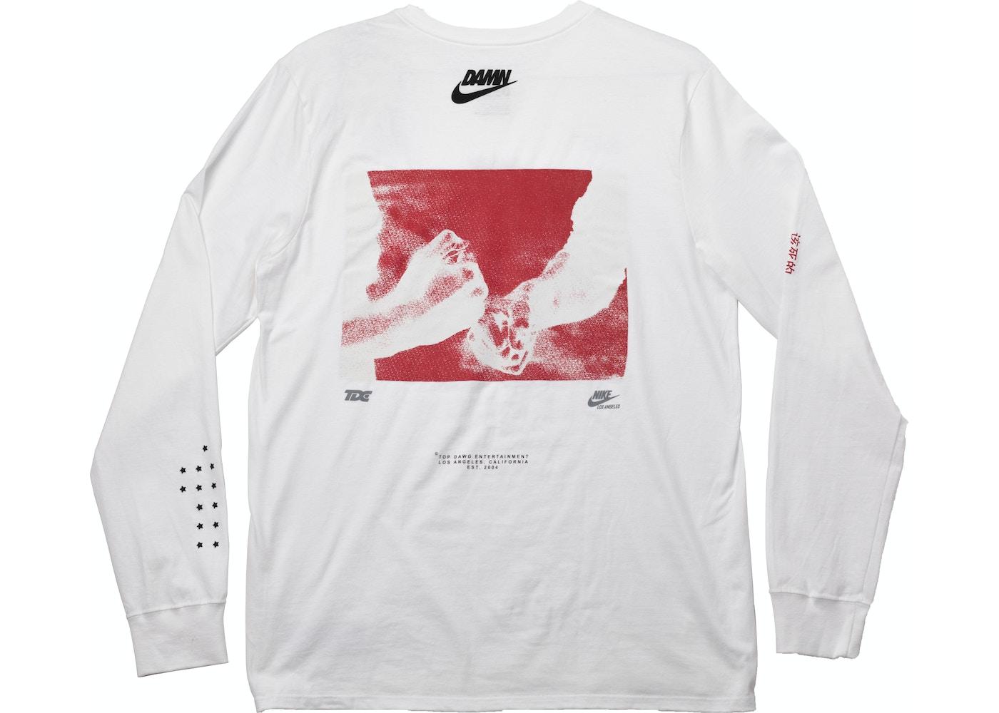 c03c48d9 TDE x Nike Swoosh Long Sleeve TDE White - SS18