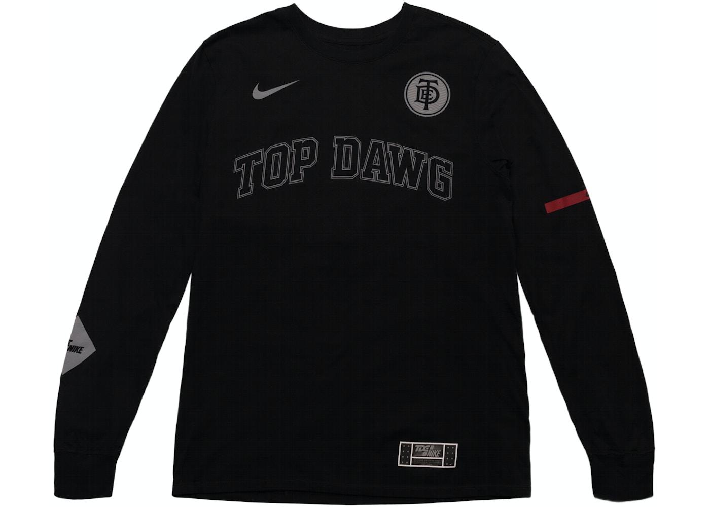 41ea17fe TDE x Nike Top Dawg Arc Long Sleeve TDE Black - SS18