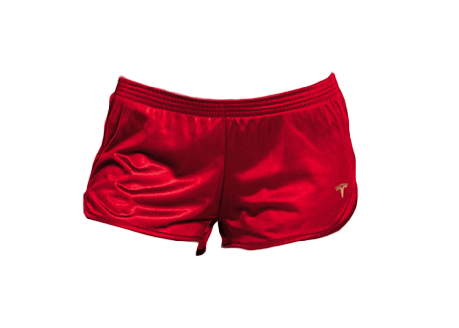 Tesla Short Shorts Red