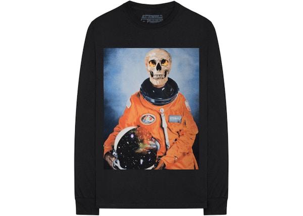c3b62e2e5 Travis Scott Astronaut L/S Tee Black