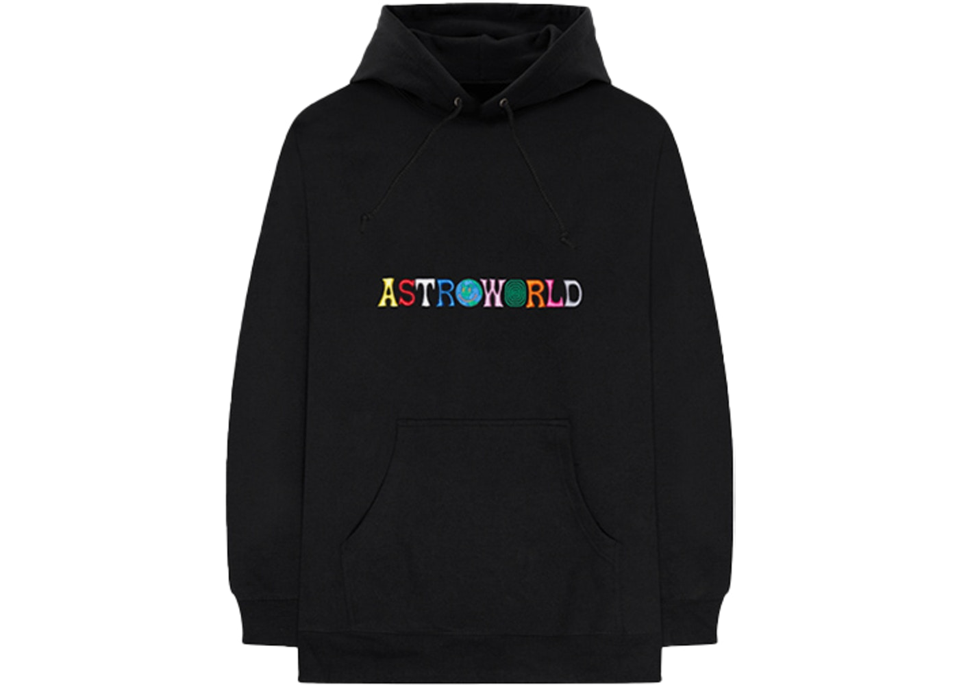4a291e17168c Travis Scott Astroworld Wish You Were Here Hoodie Black - FW18