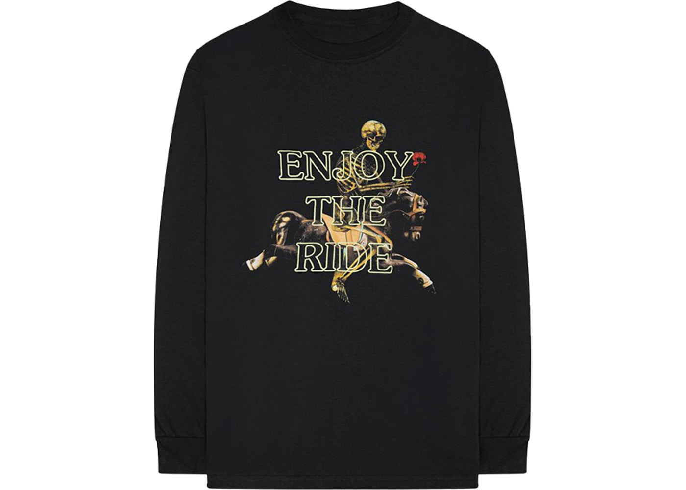 3618df3125a8 Travis Scott Astroworld Enjoy The Ride L/S Tee Black - FW18