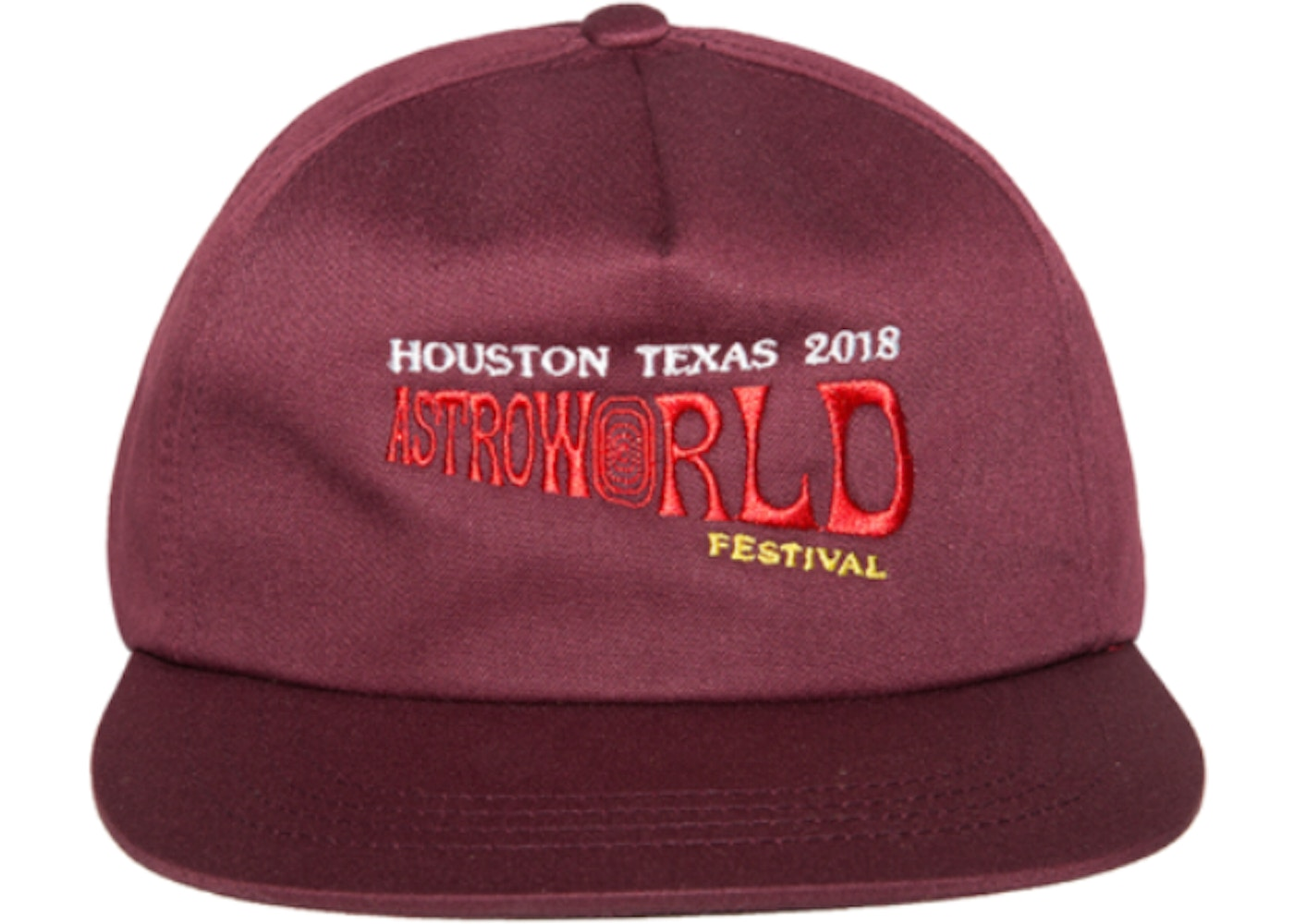Sell. or Ask. View All Bids. Travis Scott Astroworld Festival Hat Burgundy bcf44793d6f