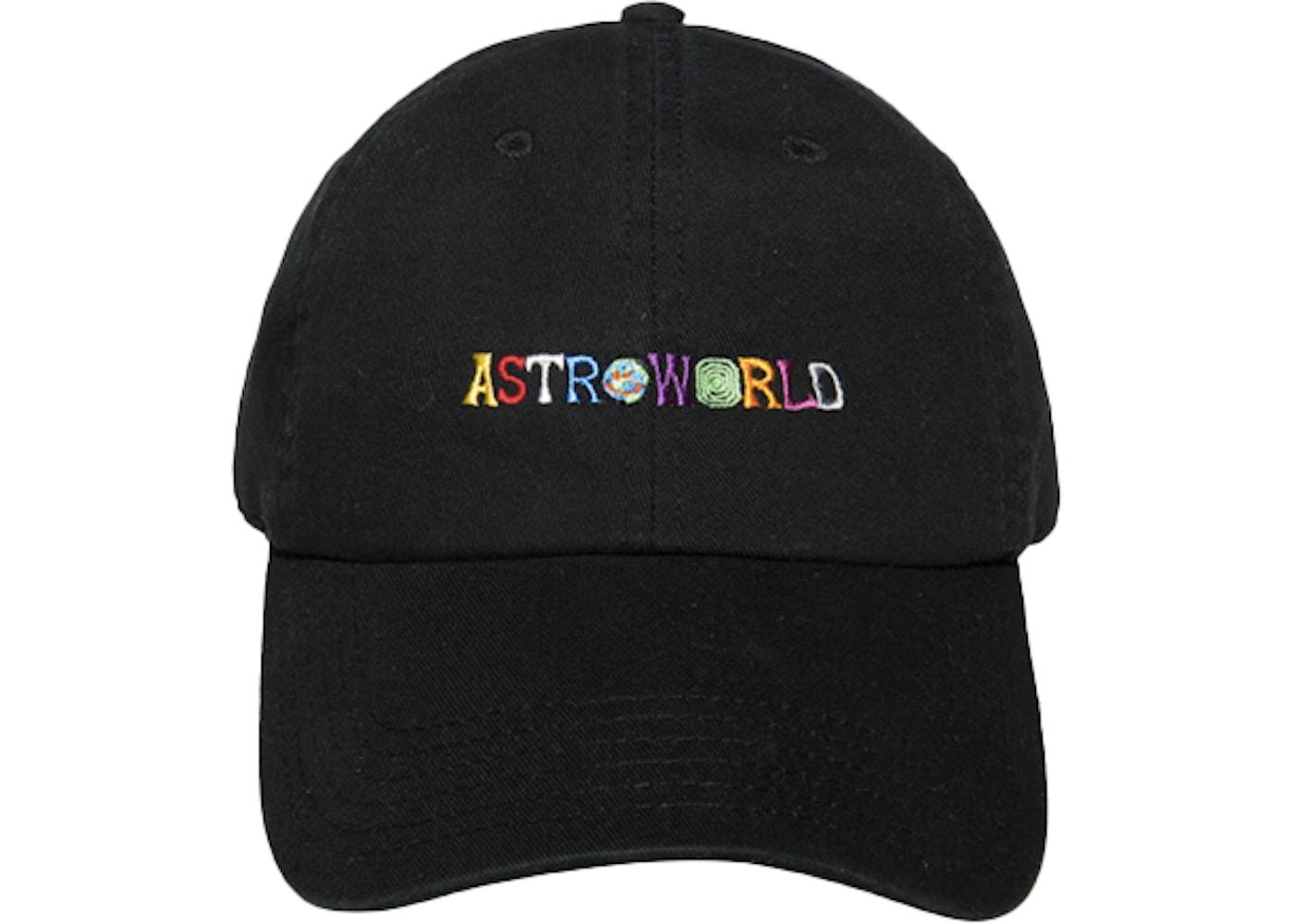 15258c8a Travis Scott Astroworld Hat Black. Astroworld