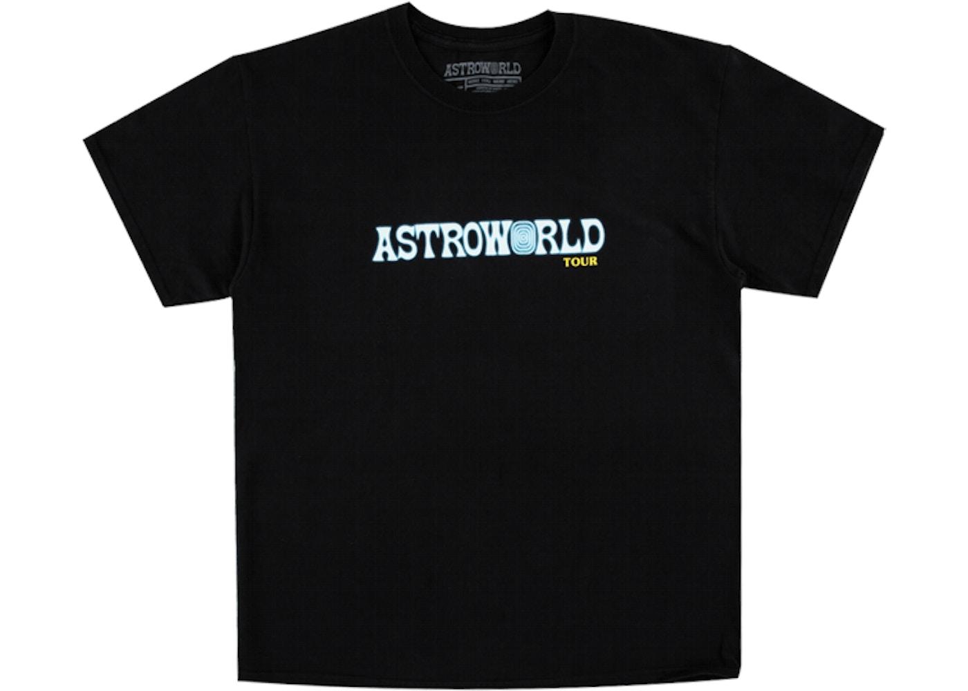 1f93956446003 Travis Scott Astroworld Tour Tee Black