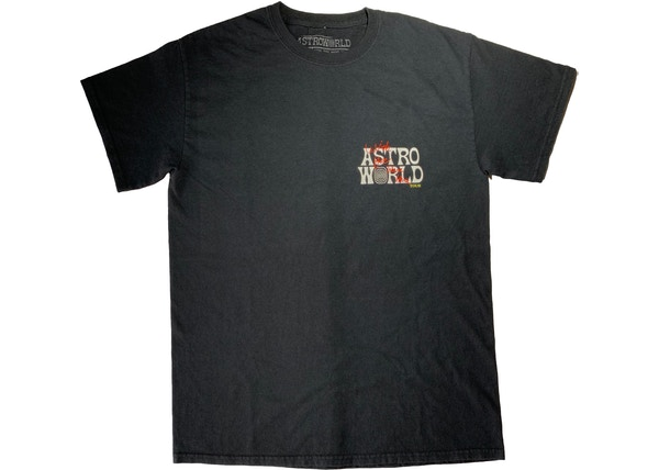 a2cc174f9839 Travis Scott Astroworld Tour Wish You Were Here Tee Black