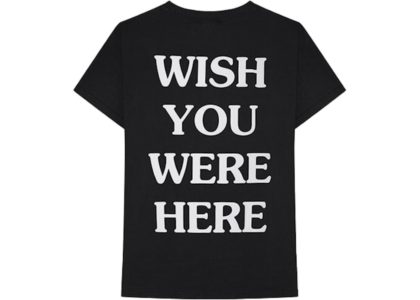 8d855a873fa4 Travis Scott Astroworld Wish You Were Here Tee Black - FW18