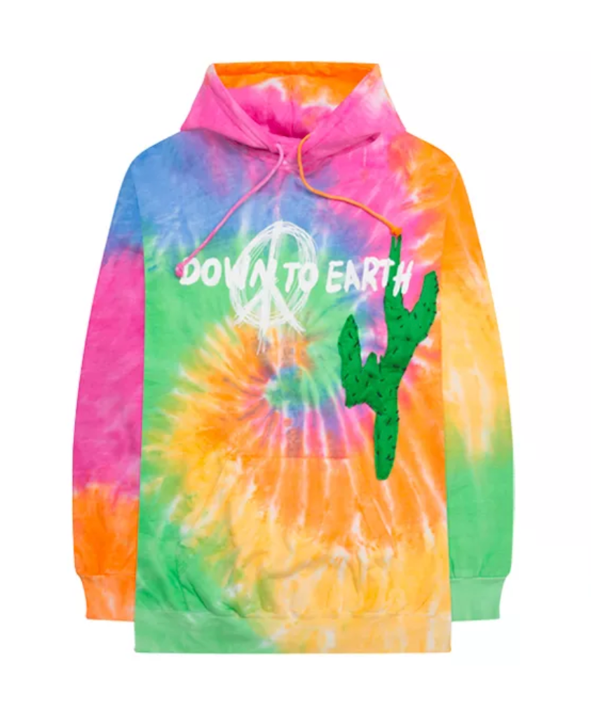 Travis Scott Astroworld x DSM Down To Earth Hoodie Tie Dye