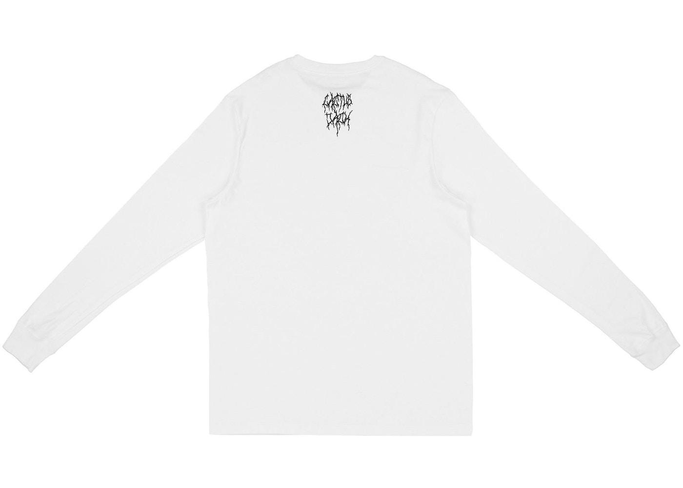 precio moderado zapatos para baratas verdadero negocio Travis Scott Cactus Jack For Nike SB Longsleeve T-Shirt White - SS20