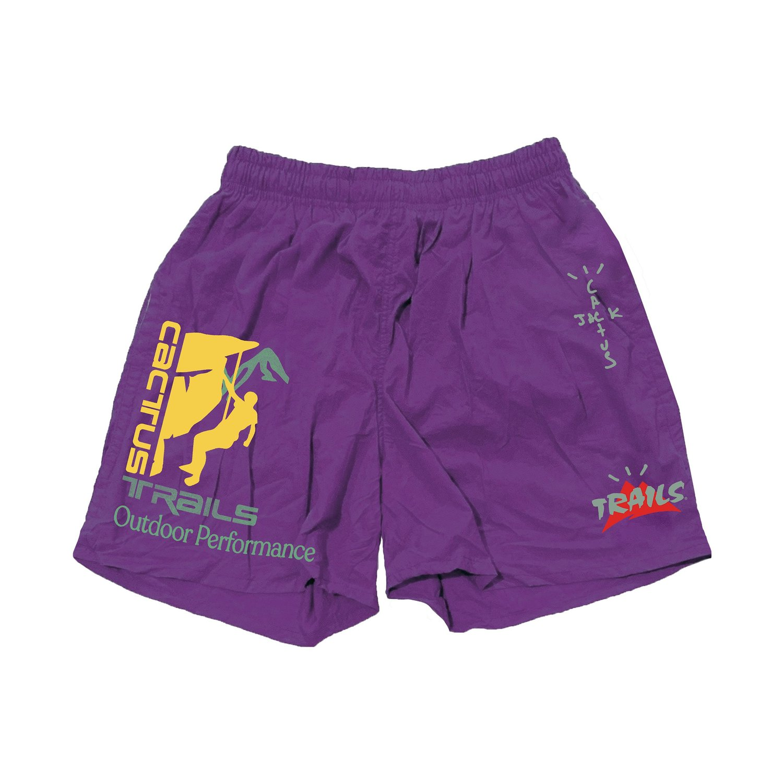 Travis Scott Climb Shorts Purple - SS20