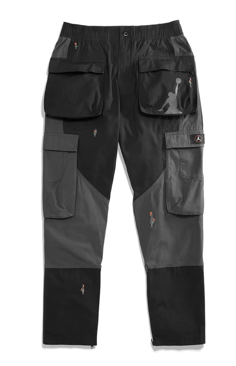 Travis Scott Jordan Cargo Pant Black by Stock X