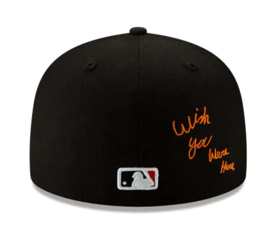 New Era Baseball Cap Hat TRAVIS SCOTT X HOUSTON ASTROS 59FIFTY BLACK Size 7 3//8