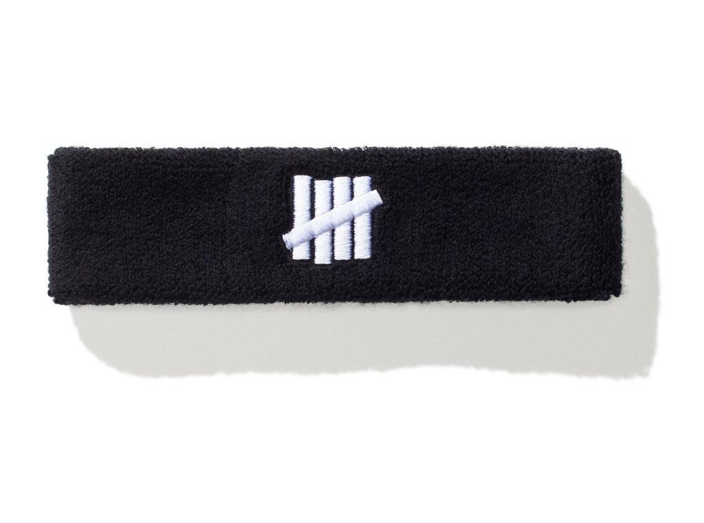 Undefeated x Nike Headband Black