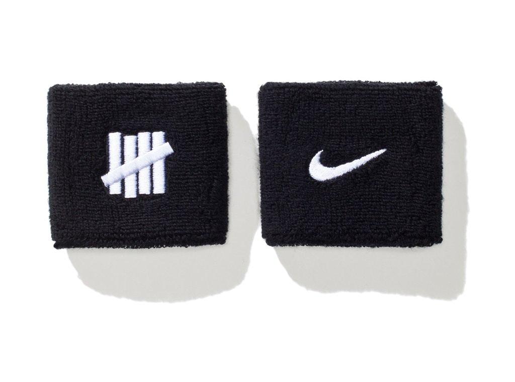 Undefeated x Nike Wristband Black