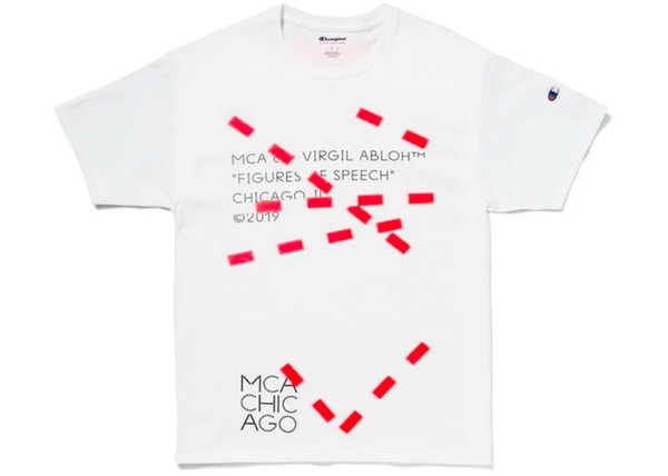8fff3568 Virgil Abloh MCA Figures of Speech Lines Tee White