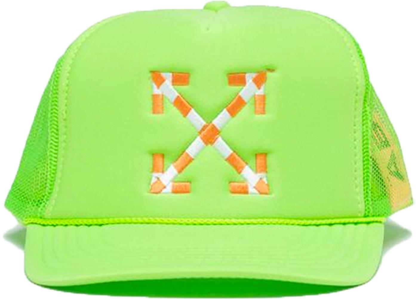 25555ed4aee Virgil Abloh x MCA Figures of Speech Trucker Hat Green - SS19