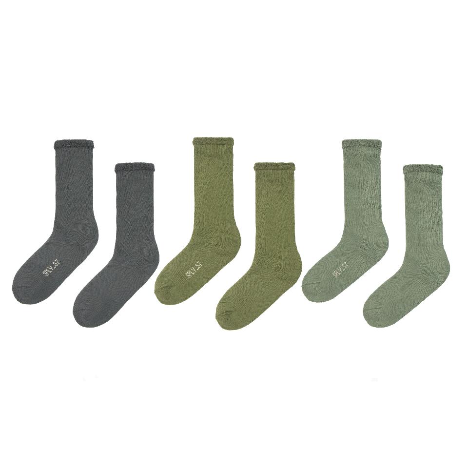 Yeezy Bouclette Socks (3 Pack) Color