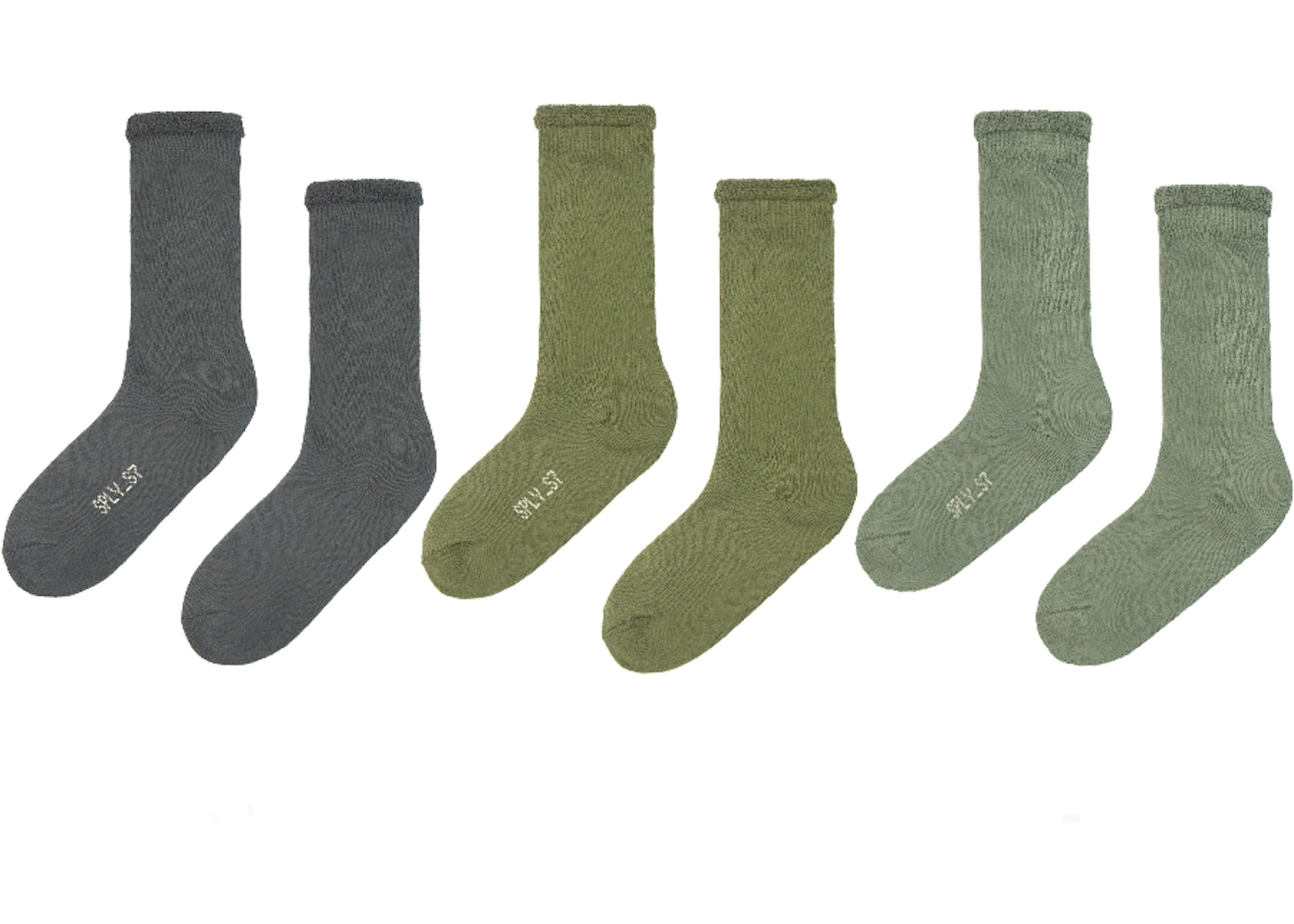 84d45eac00c34 Yeezy Bouclette Socks (3 Pack) Color Three - FW18