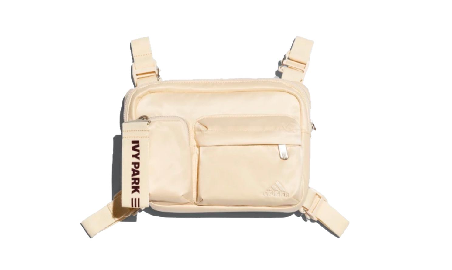 Adidas Originals Adidas Ivy Park Harness Bag Ecru Tint/maroon