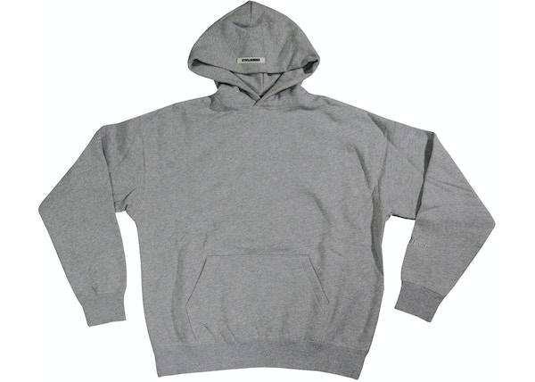 FEAR OF GOD ESSENTIALS 3M Logo Pullover Hoodie Dark Heather Gray