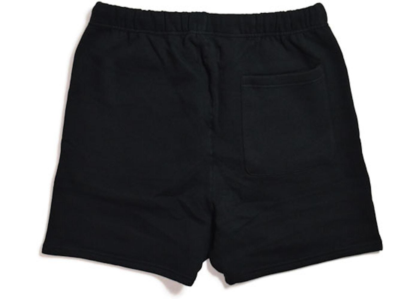 e61b02d6 FEAR OF GOD ESSENTIALS Sweat Shorts Black - FW19