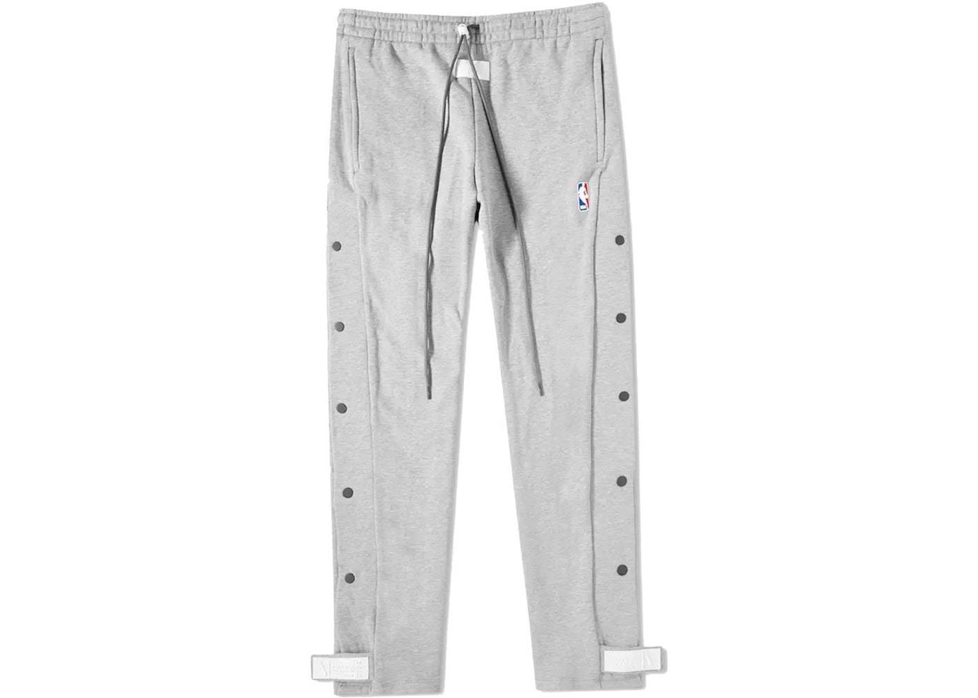 c9fb63cf2412 FEAR OF GOD x Nike Tear Away Pants Dark Grey Heather - FW18