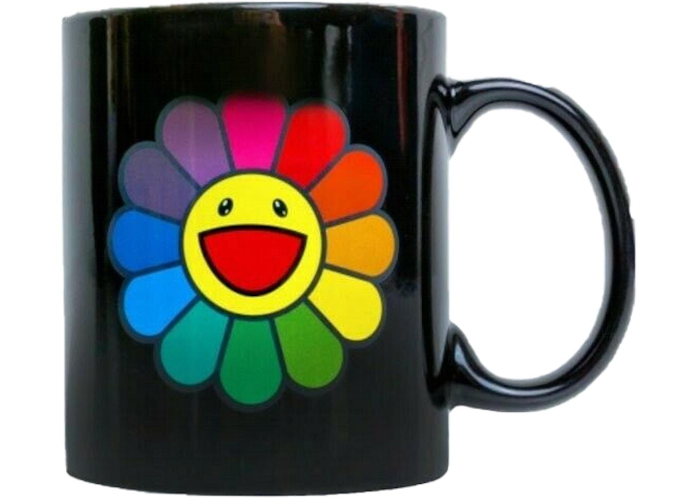 Complexcon Hotcold Flower Murakami Takashi Black Mug v80nmNOw