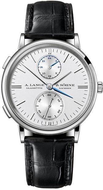 A. Lange & Sohne Saxonia Dual Time 386.026