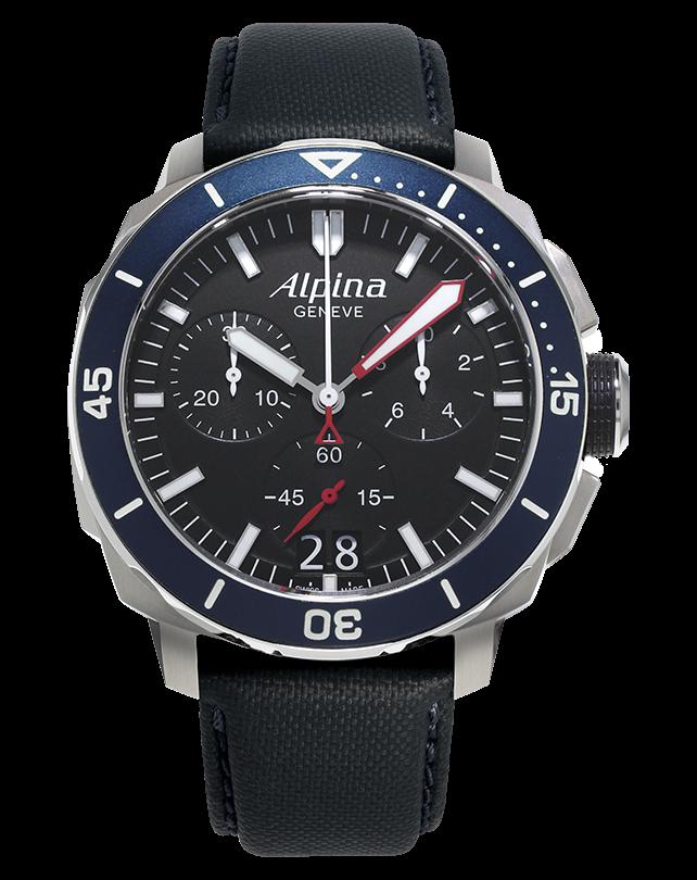 Alpina Seastrong Diver 300 Big Date Chronograph AL-372LBN4V6
