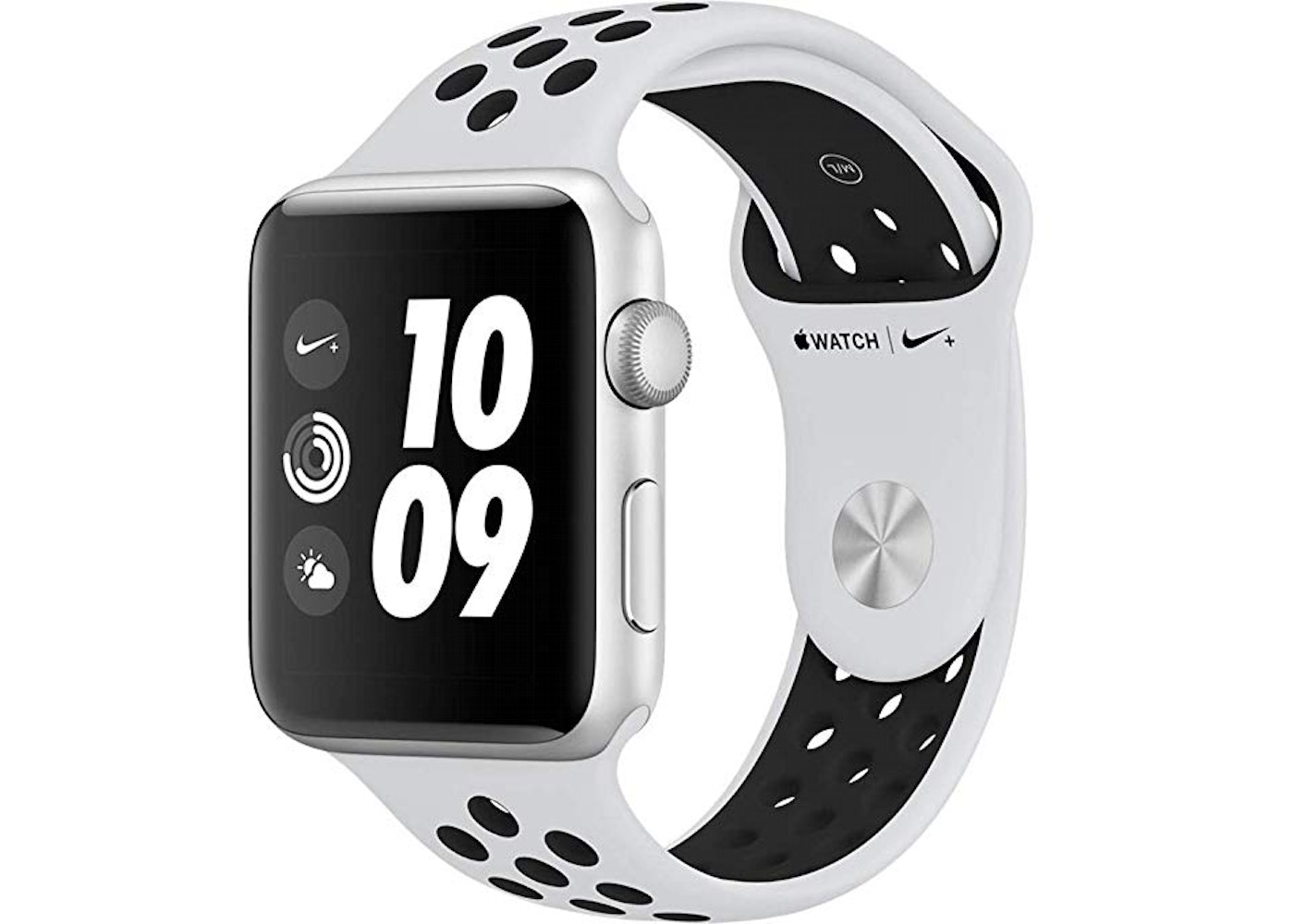 09e0fd0ca39d Sell. or Ask. View All Bids. Apple Watch Nike+ Series 3 GPS 42mm Space Gray  Aluminum ...