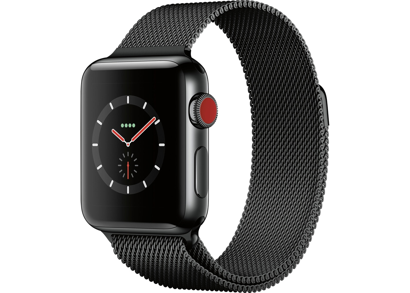 Apple Watch Series 3 GPS + Cellular 38mm Stainless Steel