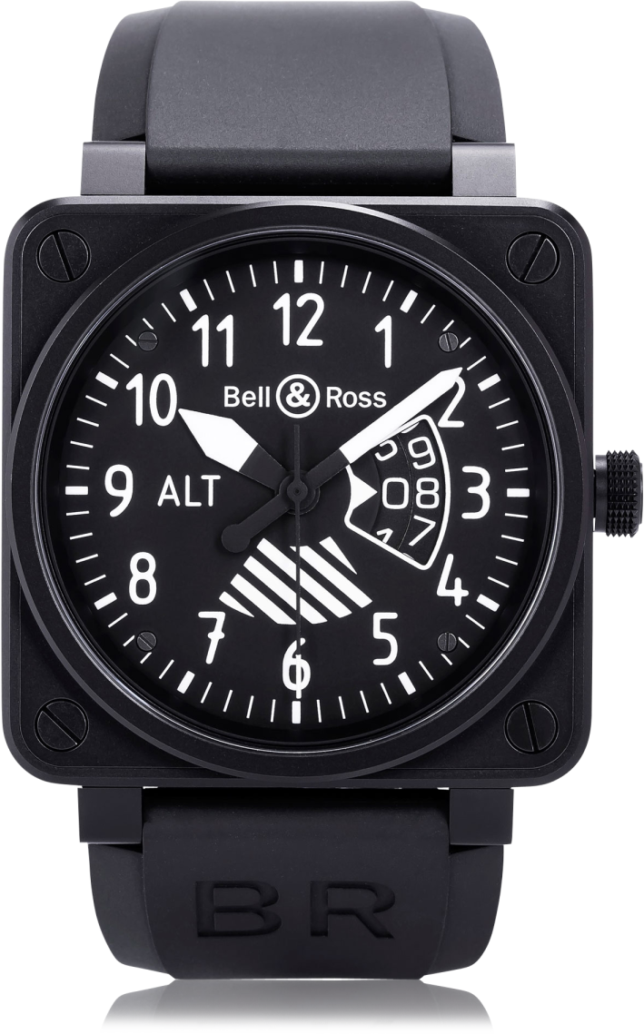 Bell and Ross Aviation BR0196-ALTIMETER