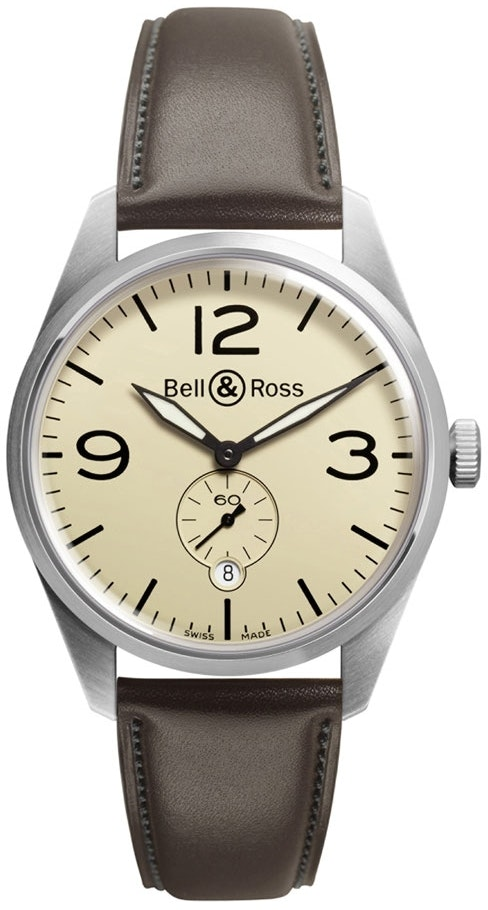 Bell and Ross Vintage BRV123-BEI-ST-SCA