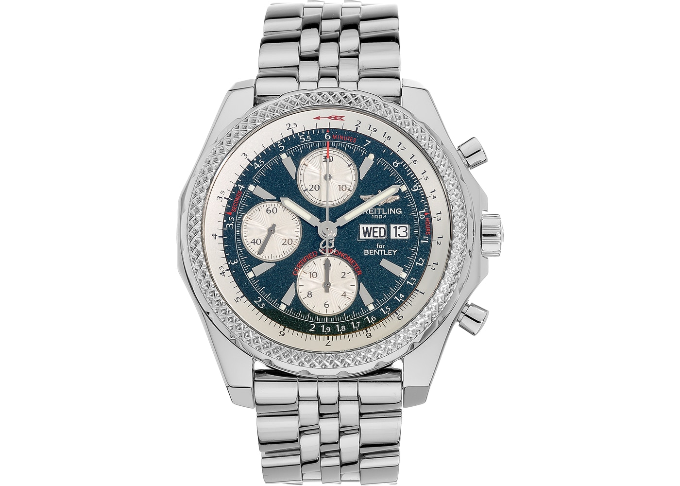 Breitling For Bentley >> Breitling Bentley Gt A13362