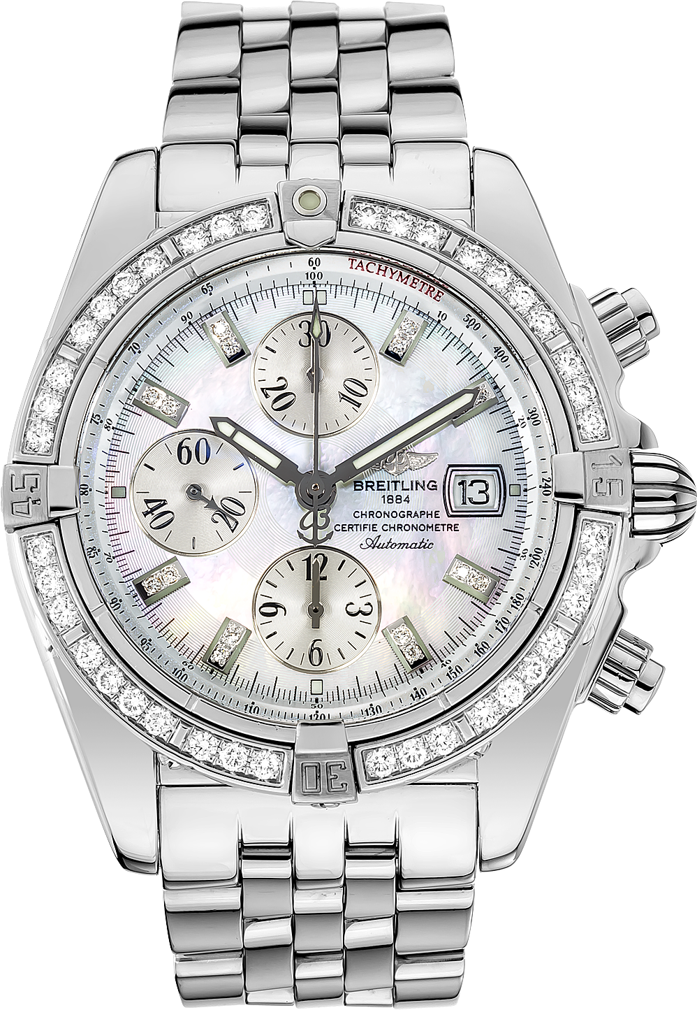 breitling chronomat evolution a13356 review