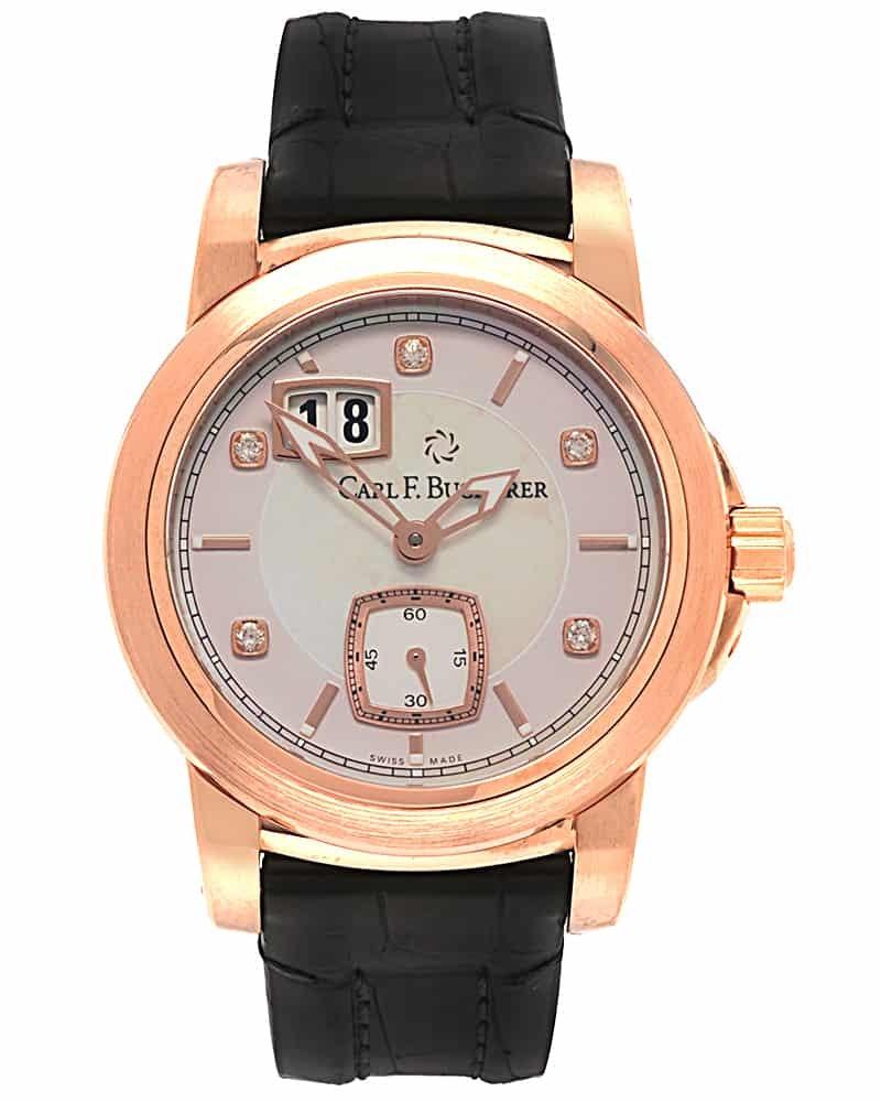 Carl F. Bucherer Diamond Patravi Date 00.10630.03.77.01