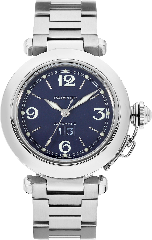 Cartier Pasha C Large Date W31047M7