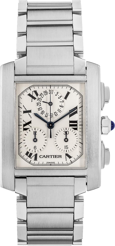 Cartier Tank Francaise Chronograph W51001Q3