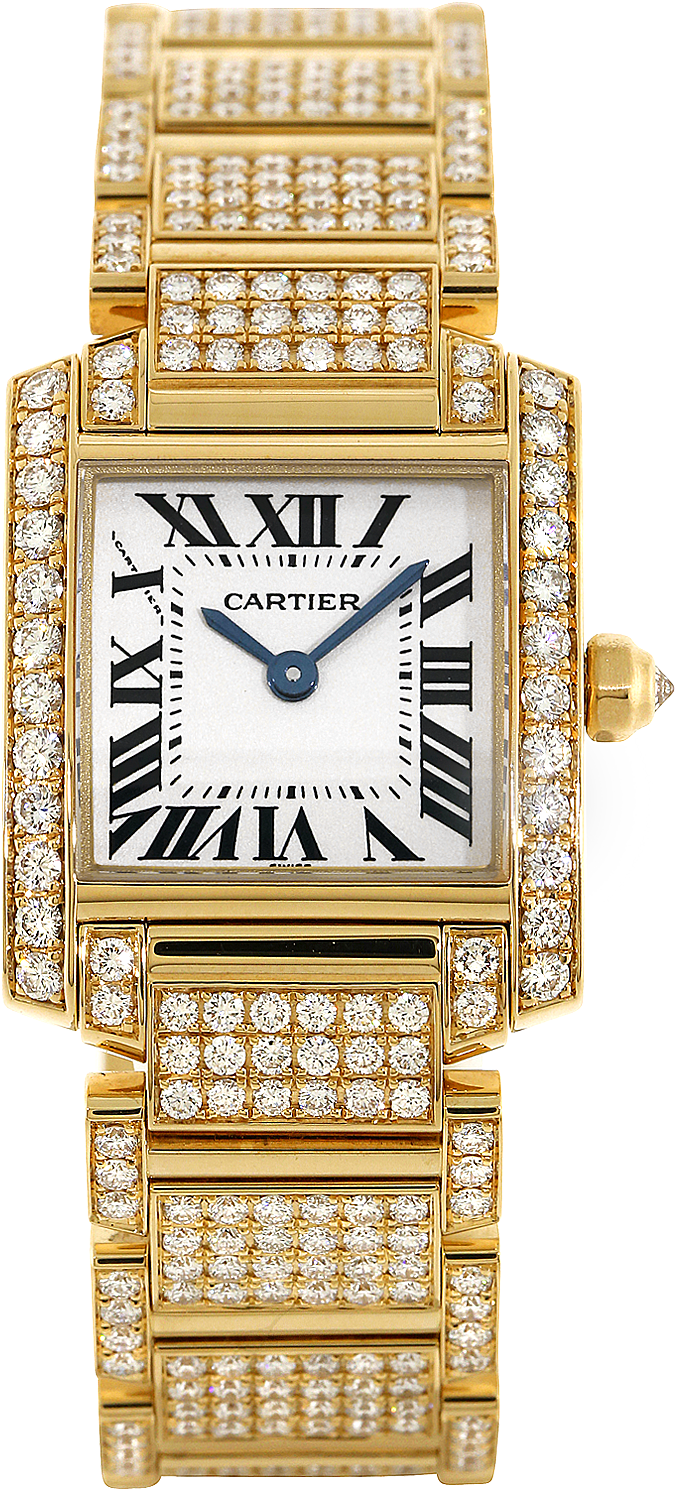 Cartier Tank Francaise WE1001RD