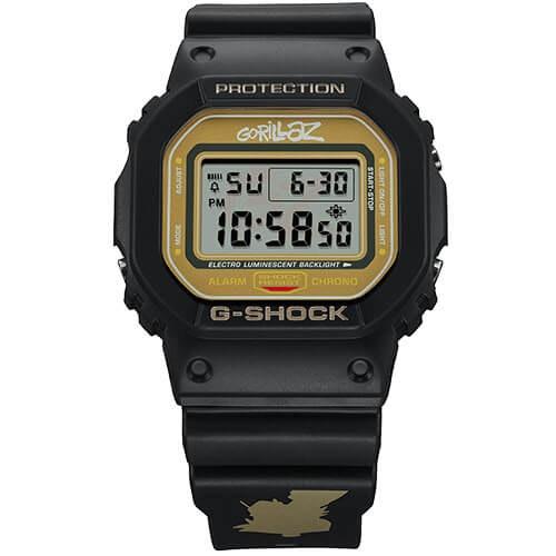 "Casio G-Shock x Gorillaz Limited Edition ""2-D"" DW-5600GRLZ2-1"