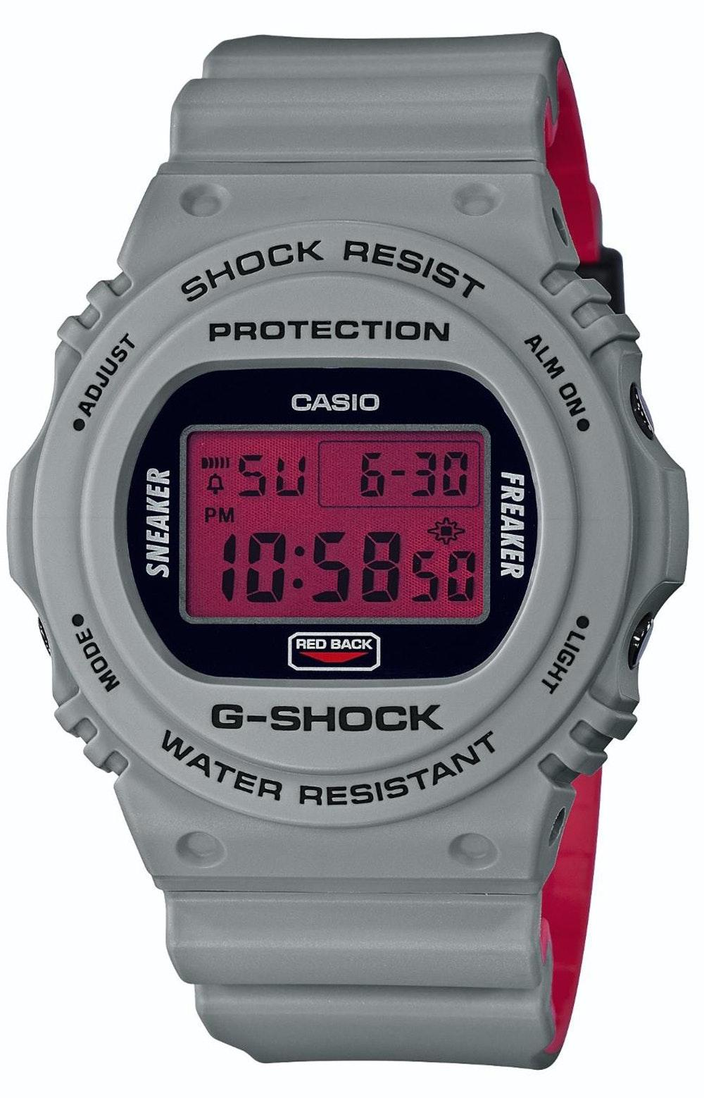 Casio G-Shock x Sneaker Freaker x Stance DW-5700SF