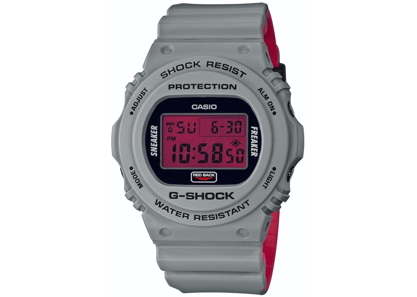 fd149a8f96a5df Casio G-Shock x Sneaker Freaker x Stance DW-5700SF - 49mm