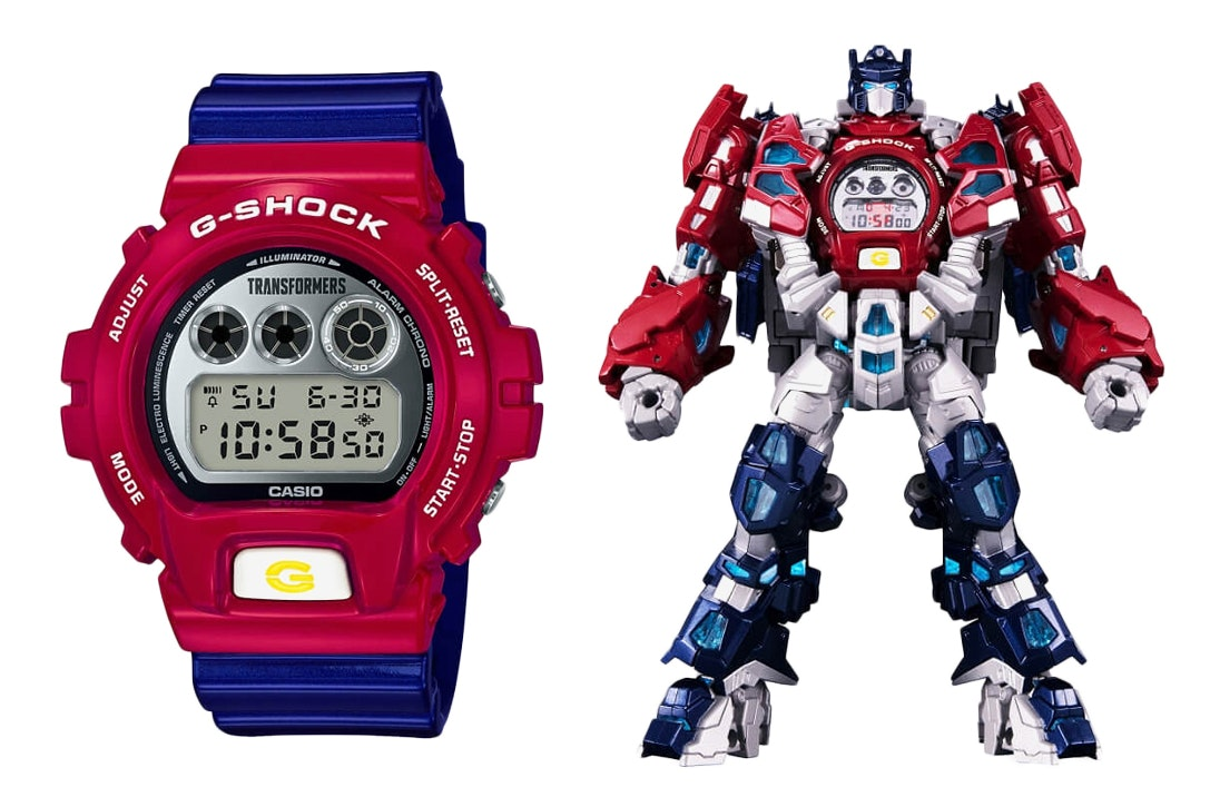 Casio G-Shock x Transformers Limited Edition DW6900TF-SET