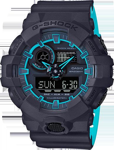 Casio G-Shock Analog-Digital GA700SE
