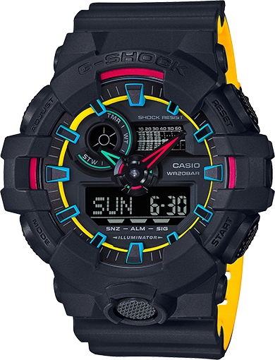 Casio G-Shock Analog-Digital GA700SE-1A9