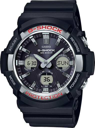 Casio G-Shock Analog-Digital GAS100-1A
