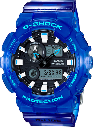 Casio G-Shock Analog-Digital GAX100MSA-2A